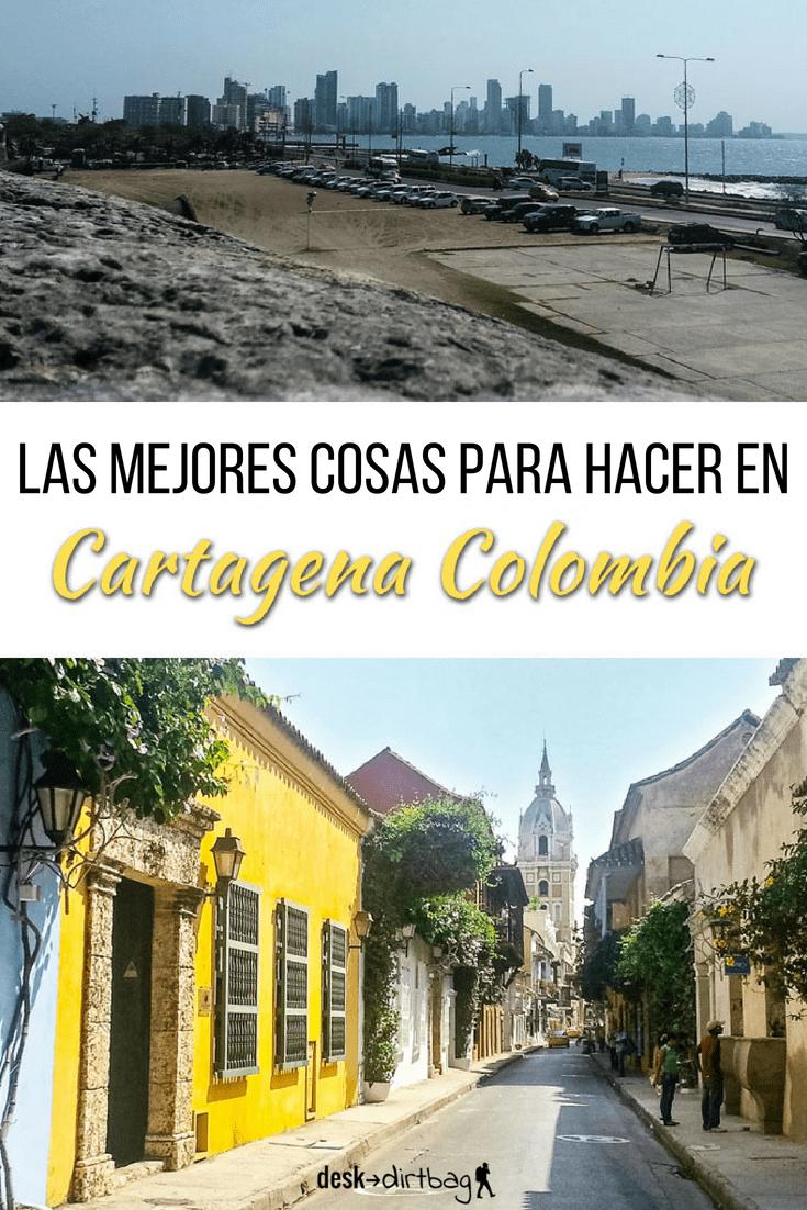 Pin Cartagena - qué hacer en Cartagena