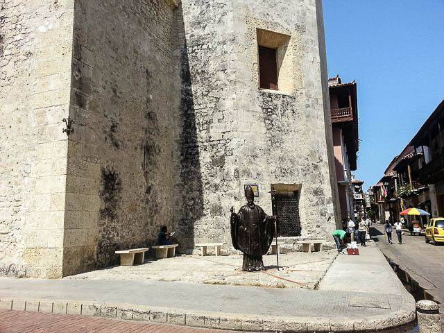 Old bricks buildings, statues, and loads of history - things to do in Cartagena Colombia