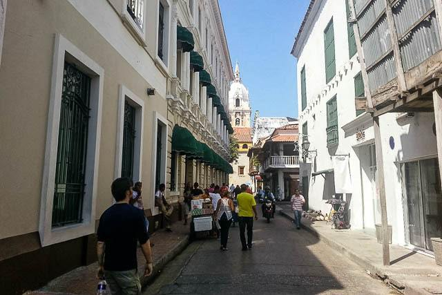The old streets - Things to do in Cartagena Colombia