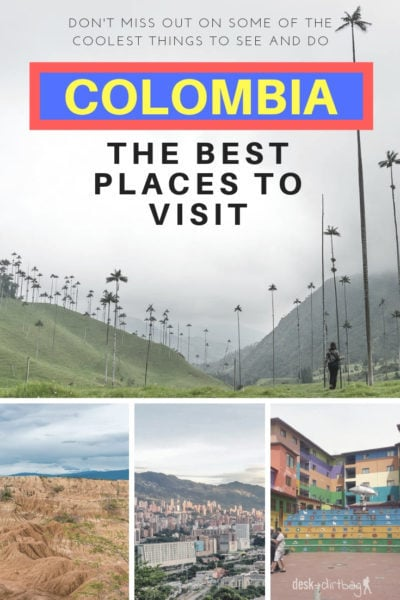 It can be tough to figure out where to go and what to see since there are so many incredible places to visit in Colombia, but this should help you start.