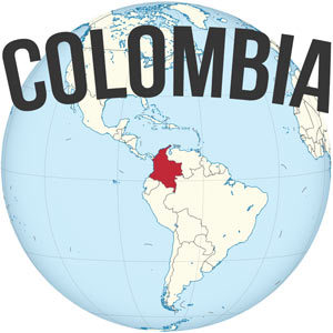 Colombia Map Location