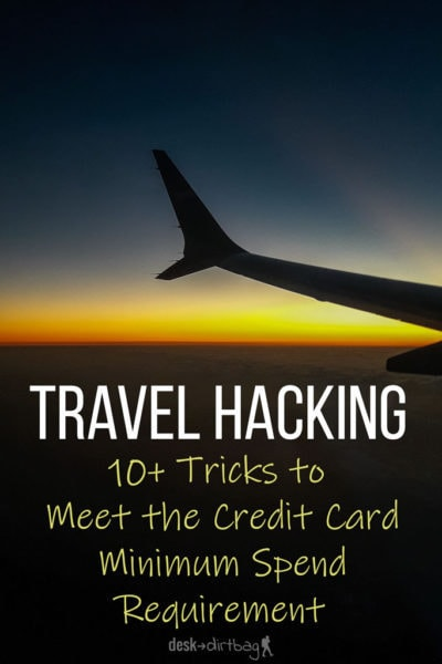 The basic premise of travel hacking is big bonuses, but many lose interest when they hear about the high credit card minimum spend. Here's what to know when you are just getting started.