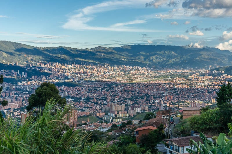 Medellin is a place where you'll definitely want travel insurance for Colombia