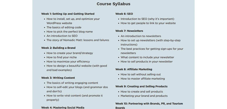 The Business of Travel Blogging Syllabus - 9 Best Blogging Tools