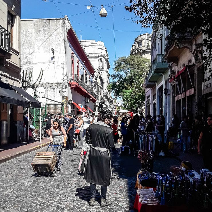 San Telmo Market - The Top 18 Things to Do in Buenos Aires