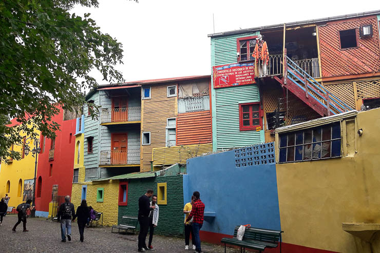 Colorful houses in La Boca - The Top 18 Things to Do in Buenos Aires