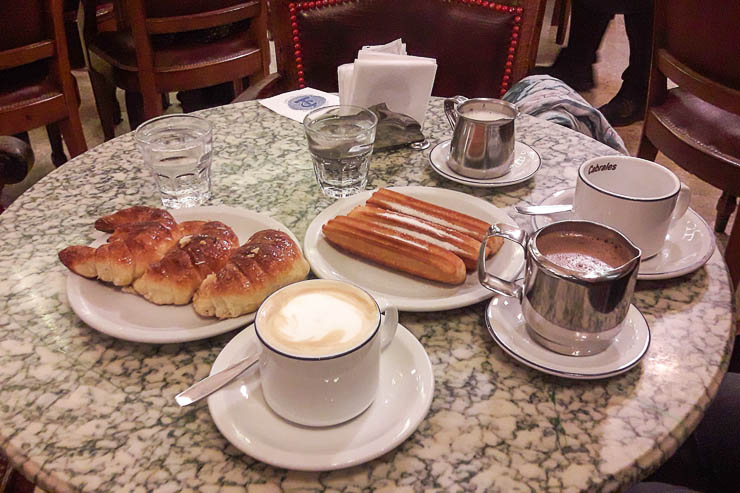 Medialunas, coffee, churros, and fizzy water - The Top 18 Things to Do in Buenos Aires