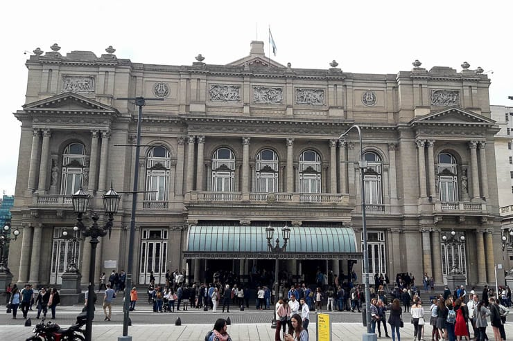 The exterior of Teatro Colon - The Top 18 Things to Do in Buenos Aires