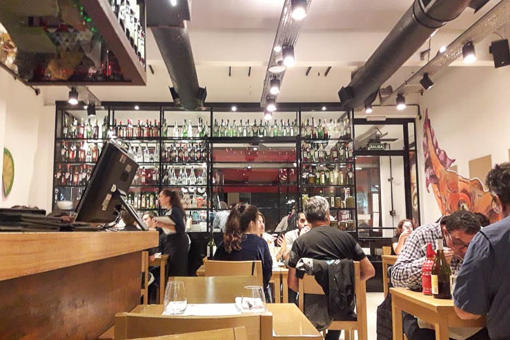 Our night out at a fancy restaurant in Buenos Aires - The Top 18 Things to Do in Buenos Aires