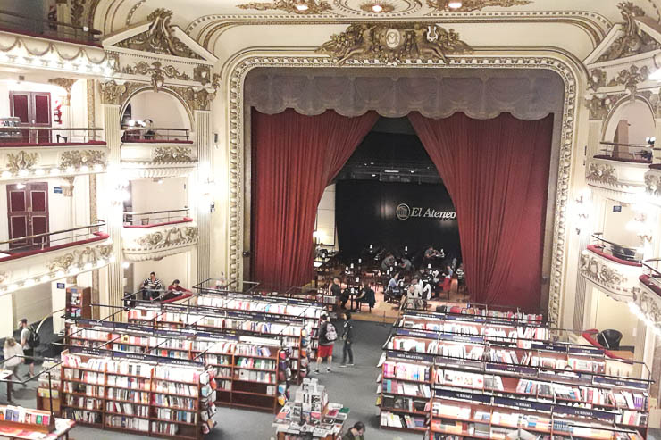 The coolest bookstore on earth, El Ateneo - The Top 18 Things to Do in Buenos Aires