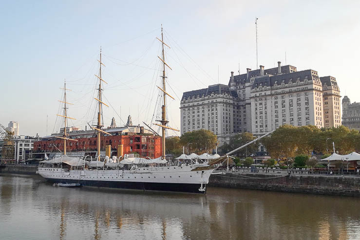Presidente Sarmiento boat along Puerto Madero - The Top 18 Things to Do in Buenos Aires