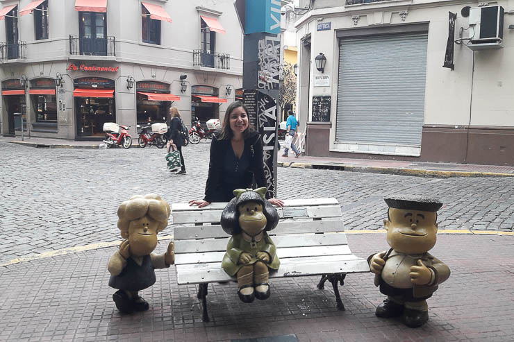 The famous Mafalda - The Top 18 Things to Do in Buenos Aires