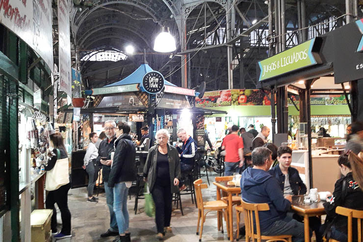 Inside the San Telmo Market - The Top 18 Things to Do in Buenos Aires