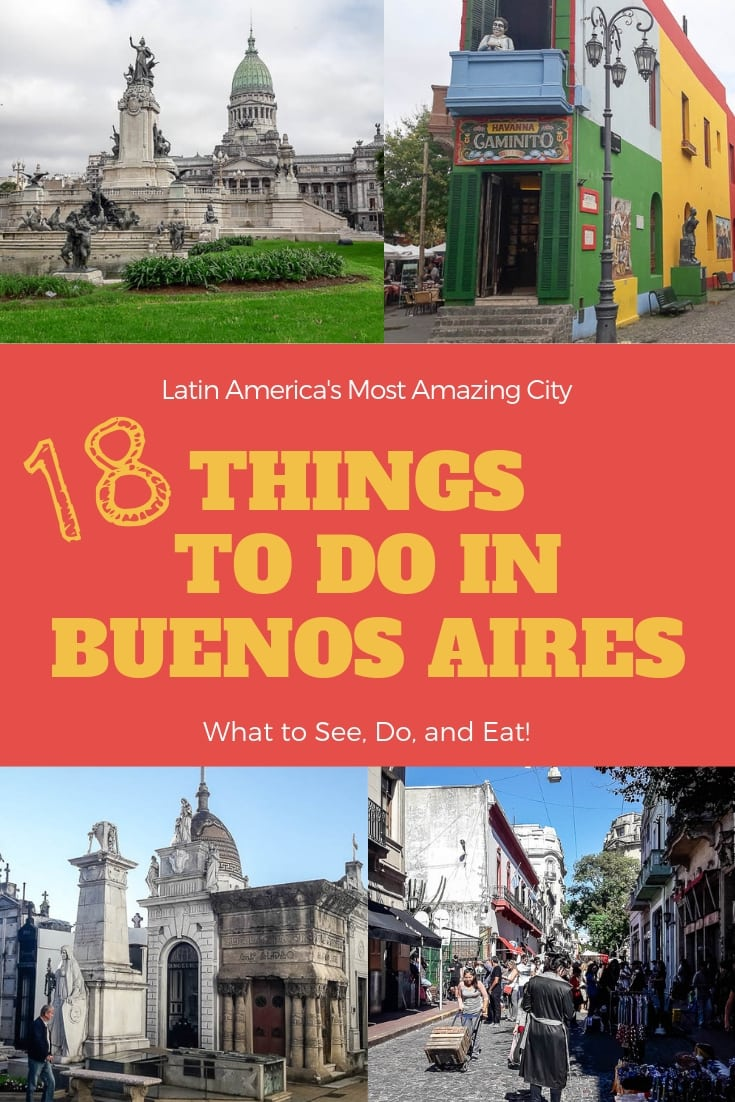 Buenos Aires is one of the most amazing cities in the world. While it gets a lot of hype, it lives up to it! Here are the top things to do in Buenos Aires.