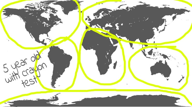 How Many Continents Are There? A Simple Question with a Complex Answer