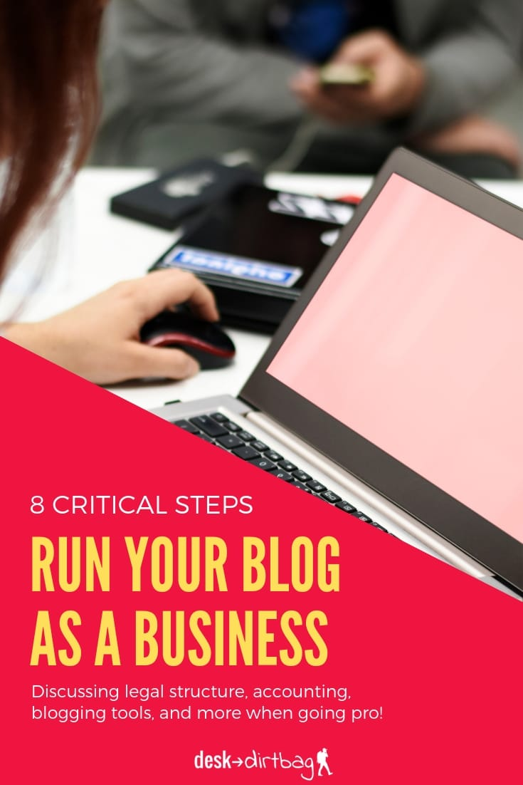 8 Steps for How to Run a Blog as a Business