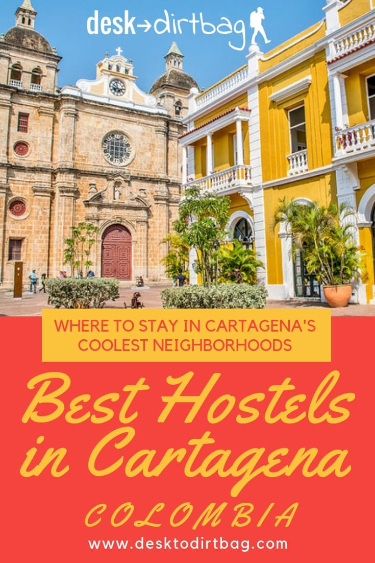Best Cartagena Hostels pinterest