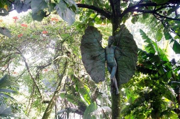 Best Medellin Hostels Secret Buddha Garden