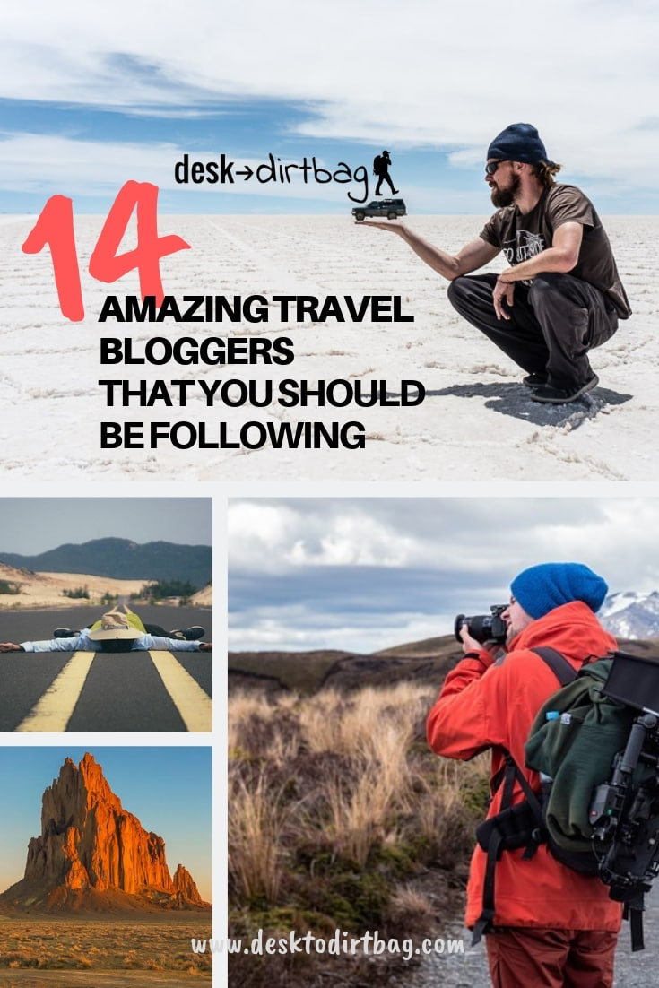 14 amazing travel bloggers to follow