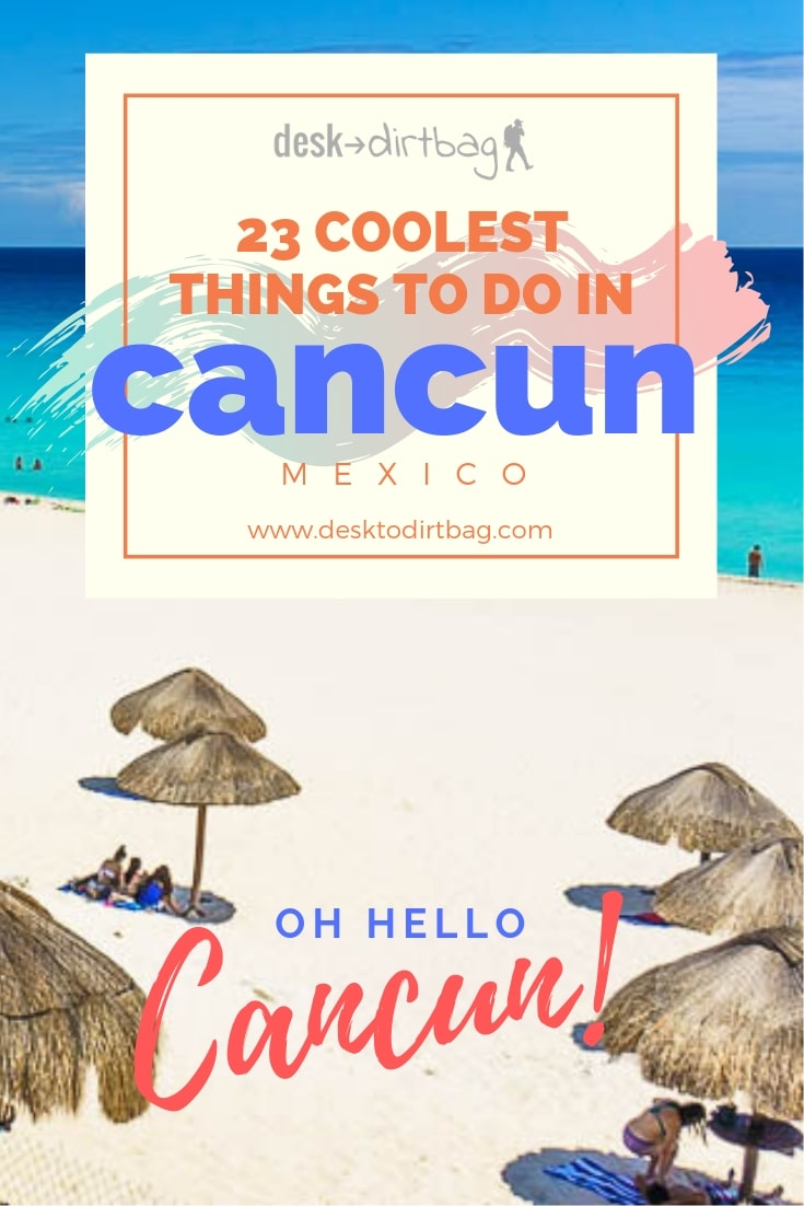 23 coolest things to do in cancun mexico pinterest