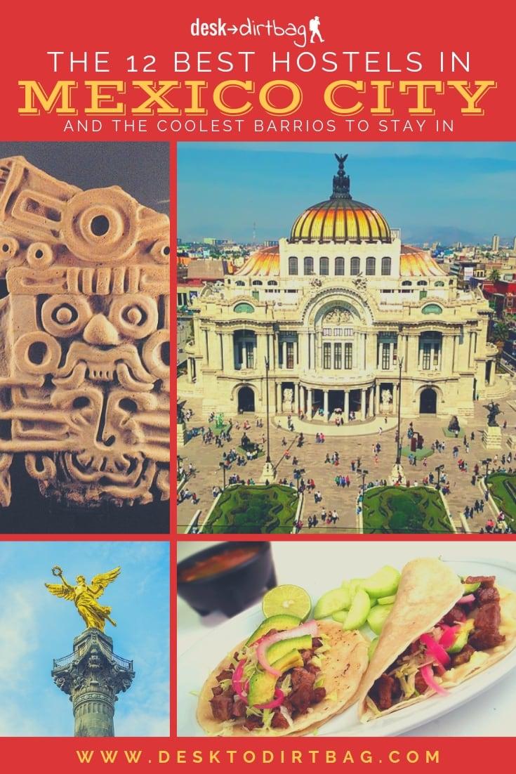 best Mexico City Hostels Pinterest