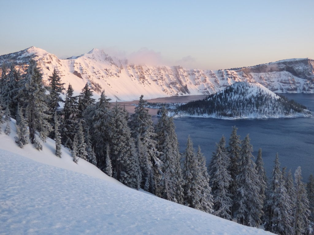 best US national parks to visit in spring Crater Lake