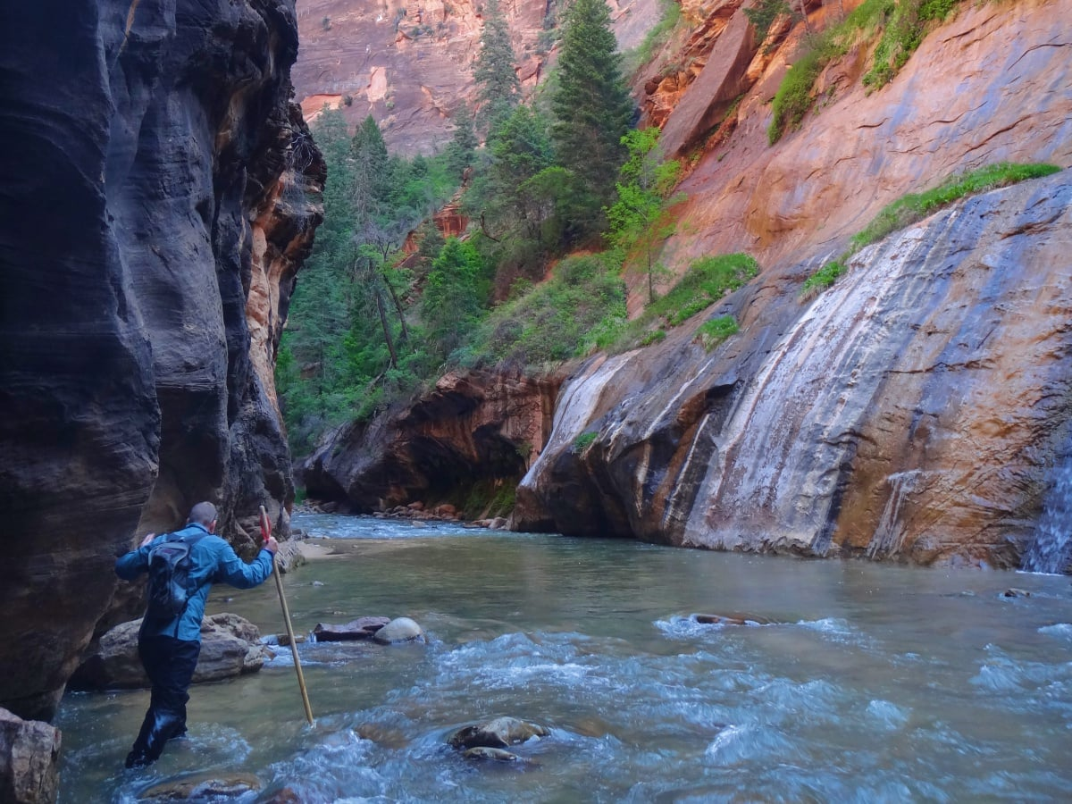 best US national parks to visit in spring The Narrows hike Zion NP