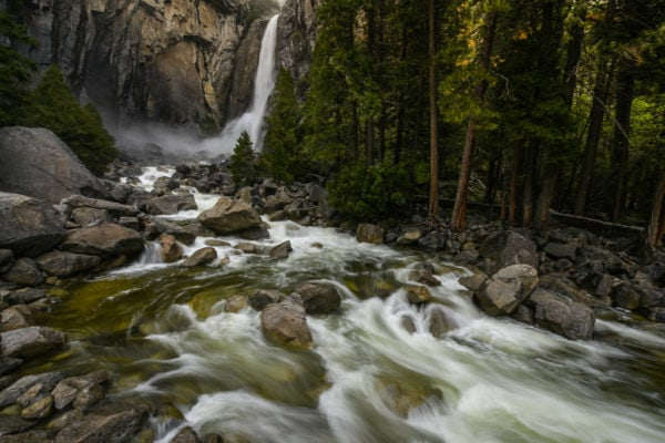 best US national parks to visit in spring Yosemite_Falls_California