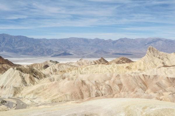 Zabriskie Point landscape, Death Valley