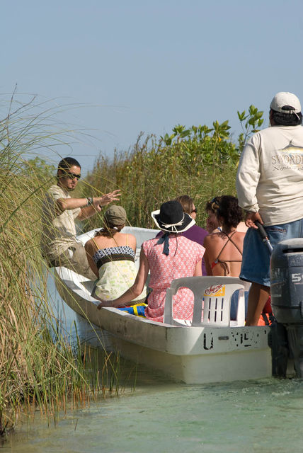 best tulum tours sian ka'an on boat