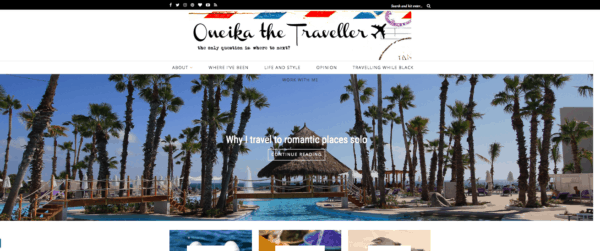 top travel bloggers to follow oneika the traveller