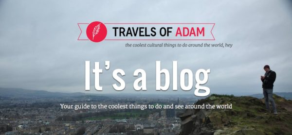 top travel bloggers to follow travels of adam