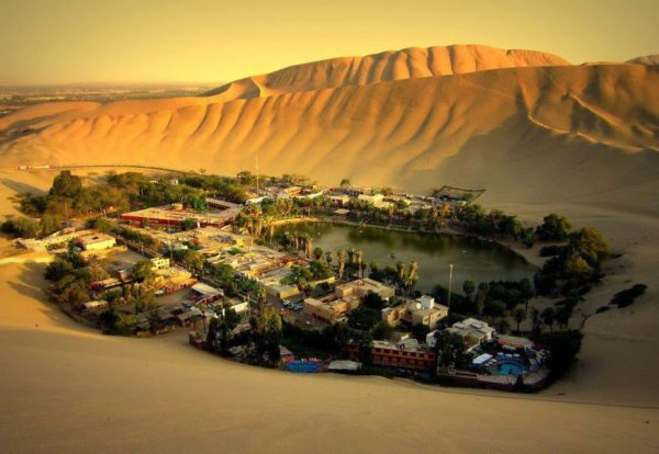 Best Lima hostels Ica and HuacaChina Sand dunes