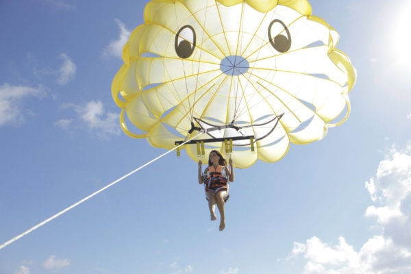 best cancun tours parasailing adventure in cancun playa del carmen