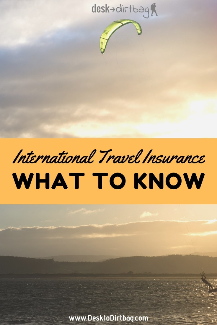 What to Know About International Travel Insurance