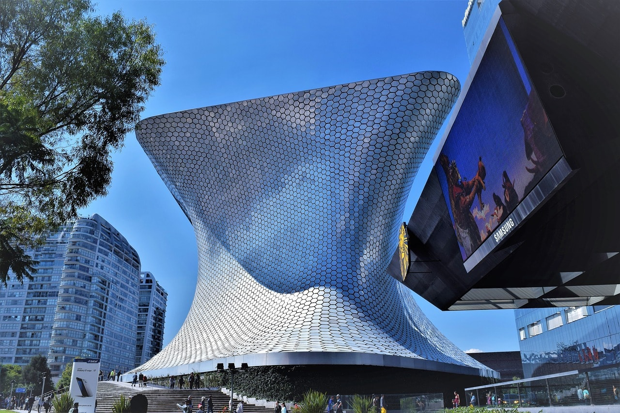 The incredible Soumaya Museum in Polanco - Where to Stay in Mexico City