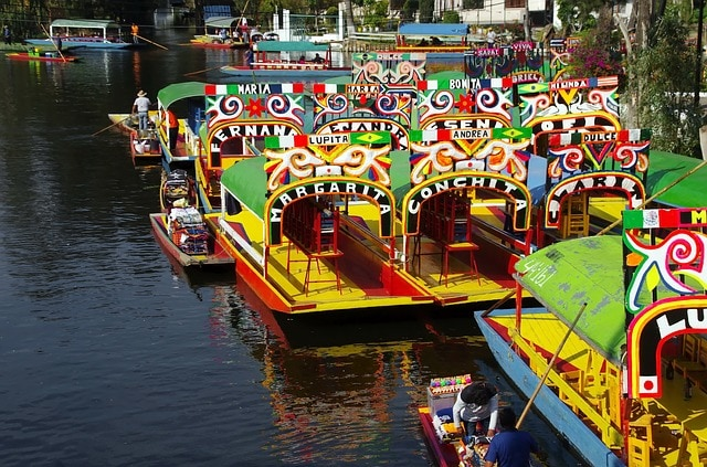 Xochimilco Boats - Where to Stay in Mexico City