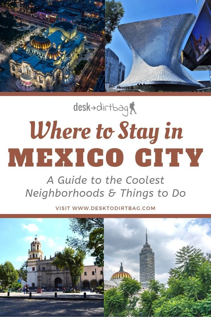 Wondering where to stay in Mexico City? Don't miss the ultimate guide to the best neighborhoods, including the top things to do in each, and budget-friendly places to stay.