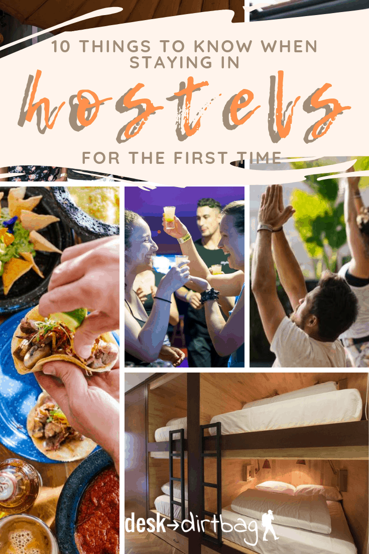 10 things to know when staying in Hostels for the first time