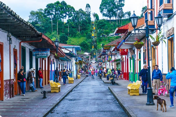 I love little colorful towns like Salento - Reasons to Visit Colombia