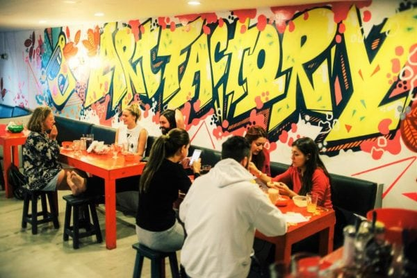 Best Buenos Aires hostels Art Factory Palermo