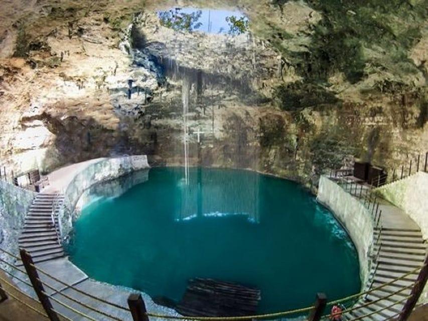Chichen Itza Maya Ruins Mexico Valladolid Hubiku Cenote