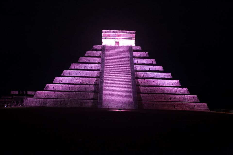 Chichen Itza Mayan Ruins Mexico City Light and Sound Show Chukum