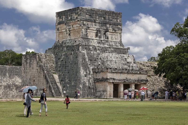 Chichen Itza Mayan Ruins Mexico txicclin xichen clasico 003