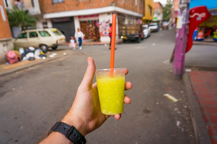 Mango Biche is so good! Definitely try one while in Medellin