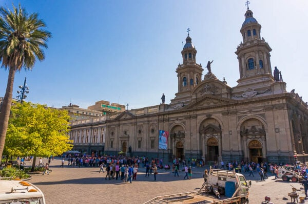 Santiago Chile Tours Plaza de Armas in Santiago Chile