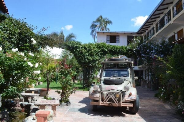 things to do in Sucre Bolivia hostel pachamama
