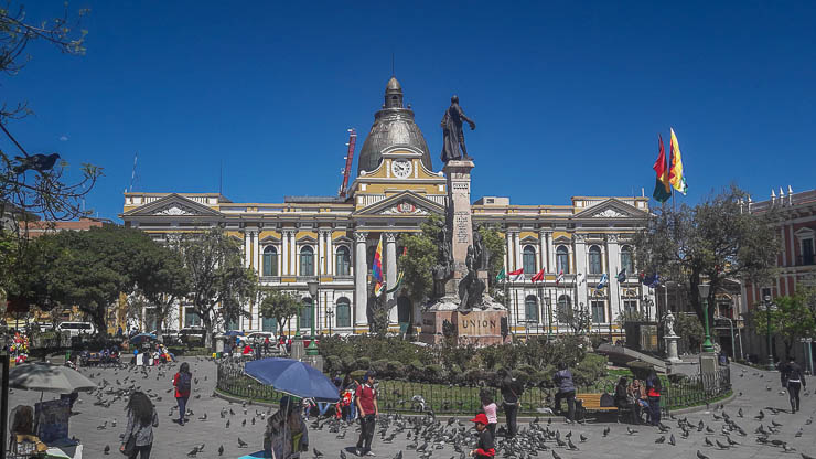 Plaza Murillo - Downtown La Paz - Things to do in La Paz Bolivia