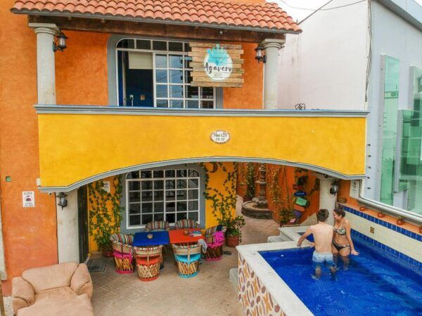where to stay in cancun Agavero Hostel