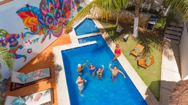 where to stay in cancun Mezcal Hotel Hostel & Bar